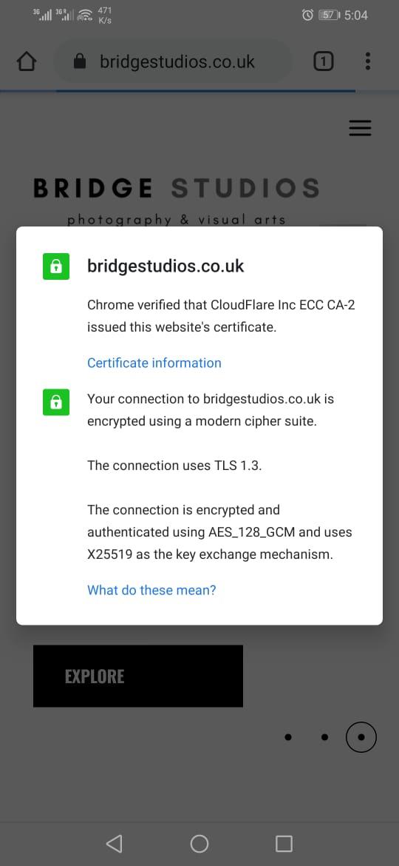 ssl bridgestudios.co .uk